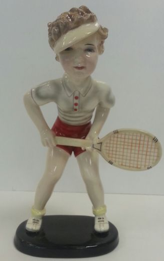 goldscheider AMAZING RARE GOLDSCHEIDER TENNIS PLAYER (item #1262)