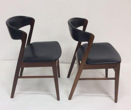 A pair of chairs by kai kristiansen chairs gazelles of lyndhurst - Kai kristiansen chair ...