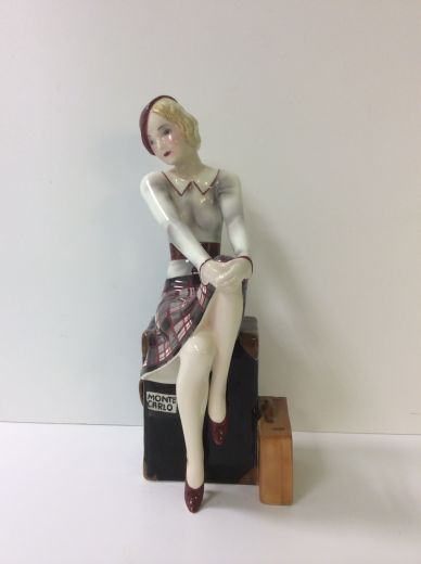 goldscheider ART DECO FIGURE MONTE CARLO (item #1405)