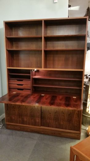 cabinets POUL HUNDEVAD ROSEWOOD WALL UNIT (item #1545)