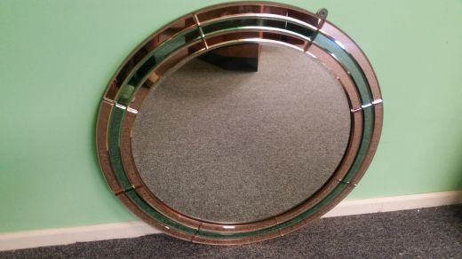 art deco mirrors ART DECO MIRROR (item #1578)
