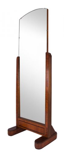 art deco mirrors ART DECO CHEVAL MIRROR (item #1611)
