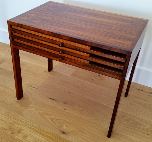 tables ILLUM WIKKELSO ROSEWOOD NEST OF TABLES (item #1616)