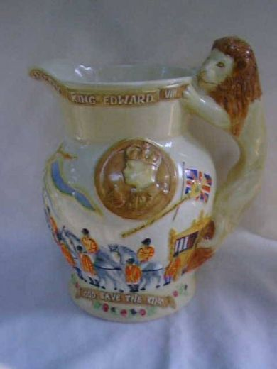 Other items Bewly Pottery musical jug (item #164)