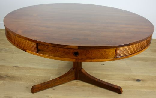 dinning tables ROBERT HERITAGE ROSEWOOD DRUM TABLE (item #1680)