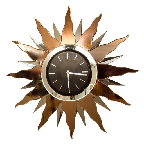 art deco clocks AWESOME ART DECO CLOCK (item #1725)