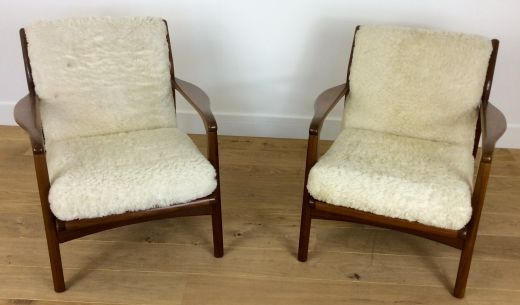 chairs MID CENTURY ARMCHAIRS TOOTHILL (item #1736)