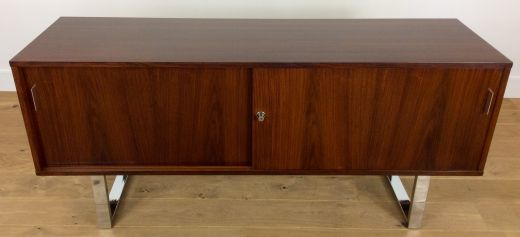sideboard credenzas GORDON RUSSELL ROSEWOOD SIDEBOARD CREDENZA (item #1750)