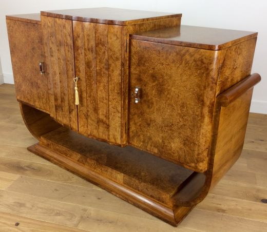 art deco sideboard credenza HARRY AND LOU EPSTEIN SIDEBOARD CREDENZA (item #1751)