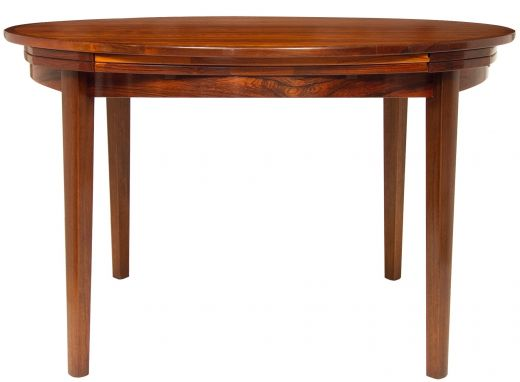 TABLES DYRLUND ROSEWOOD DINING TABLE (item #1791)