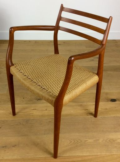 CHAIRS MID CENTURY DINING CHAIRS BY NIELS OTTO MOLLER (item #1812)