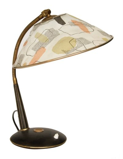 LIGHTING MID CENTURY TABLE LIGHT (item #1813)
