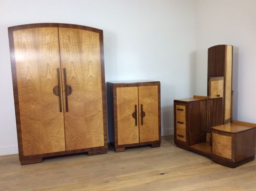 ART DECO BEDROOM SETS ART DECO BEDROOM SET (item #1920)