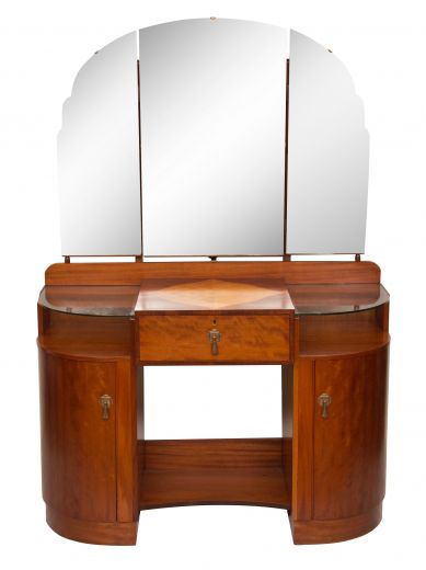 art deco dressing tables ART DECO DRESSING TABLE BY MAPLE AND CO (item #1926)