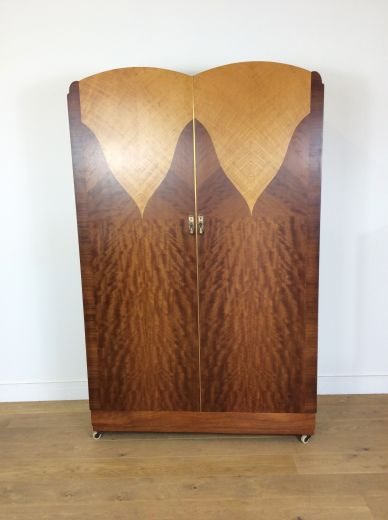 art deco wardrobes ART DECO WARDROBE by MAPLE AND CO (item #1928)