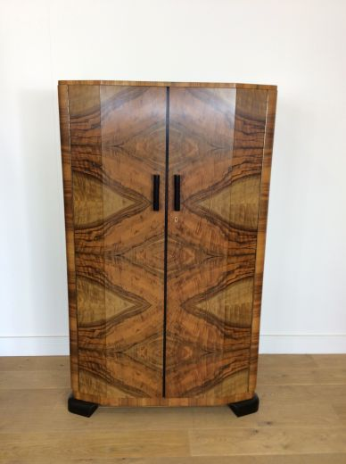 art deco wardrobes ART DECO TALL BOY (item #1939)