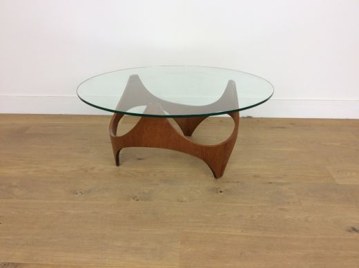 tables MID CENTURY BIOMORPHIC TABLE designed by Henry P Glass (item #1967)