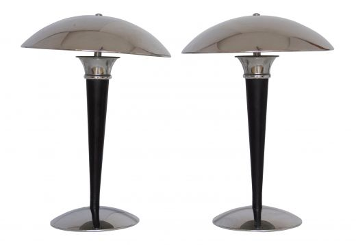 ART DECO TABLE LAMPS A PAIR OF ART DECO TABLE LAMPS (item #1970)