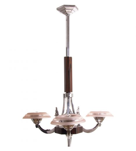 art deco chandeliers ART DECO CHANDELIER (#1972)