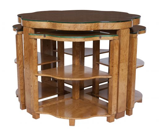art deco furniture art deco nest of tables (item #2017)