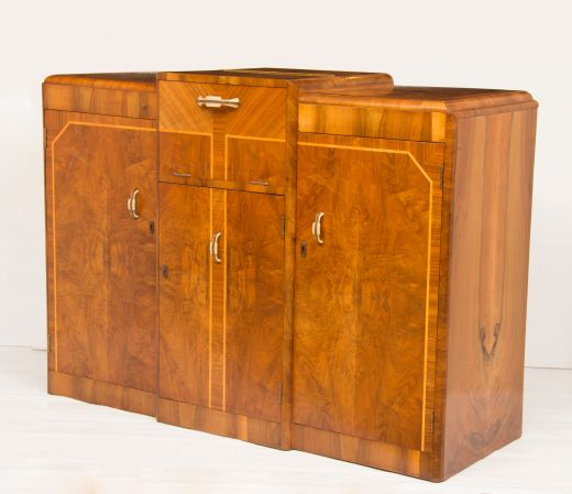 art deco cocktail cabinets Art Deco Cocktail sideboard (item #2032)