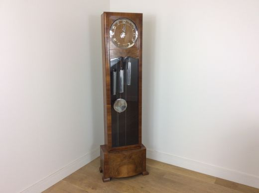 art deco clocks At Deco Grandfather clock (item #2033)