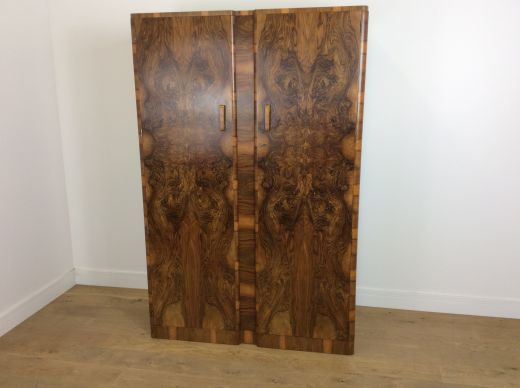 art deco wardrobes Art deco wardrobe (item #2057)
