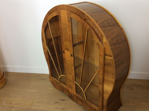 art deco display cabinets Art Deco Display cabinet bookcase (item #2064)