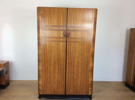 art deco wardrobes Art Deco Wardrobe (item #2083)