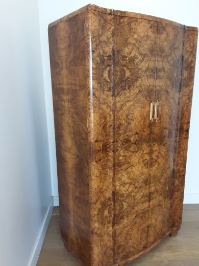 art deco wardrobes Art deco tall boy   (item #2096)