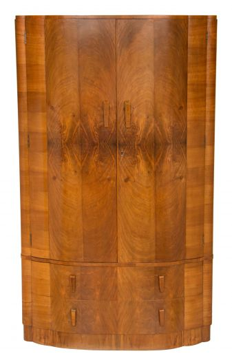 art deco wardrobes Art Deco Wardrobe (#2114)