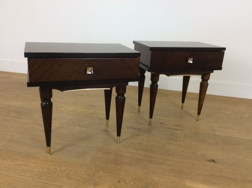 bedside tables  Mid century bedside tables (#2122)