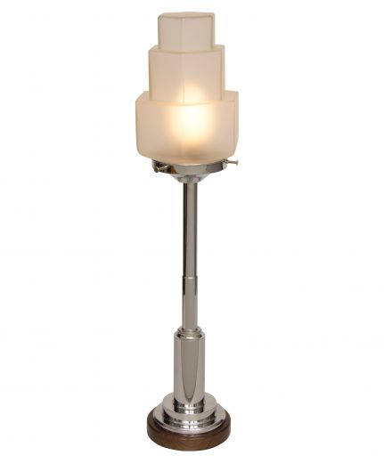 art deco table lamps Art deco table lamp (item #2132)