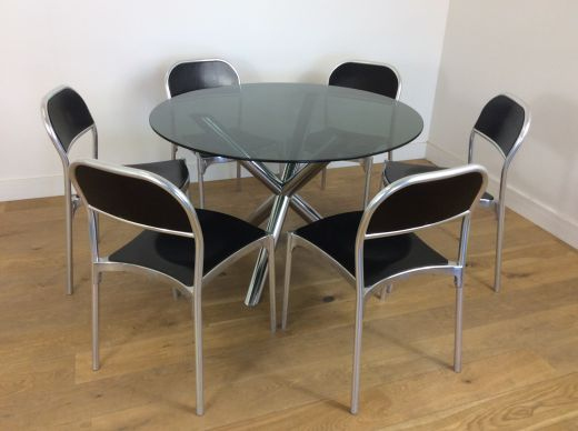 Dining sets Mid century dining table and chairs (#2142)