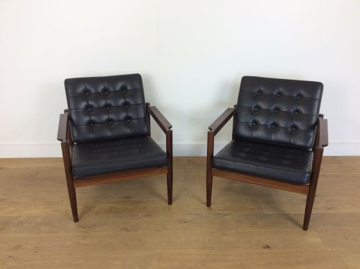 chairs Mid century armchairs (item #2144)