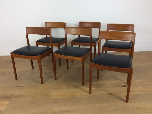 chairs Mid century dining chairs bY NIELS OTTO MOLLER (item #2152)