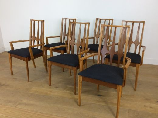 chairs mid century dining chairs Broyhill Brasilia (item #2154)
