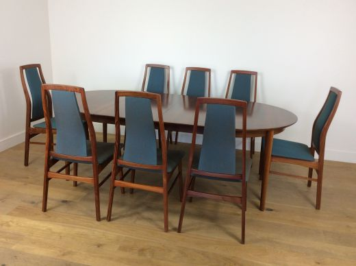 Dining sets Mid century rosewood dining table and chairs (item #2155)