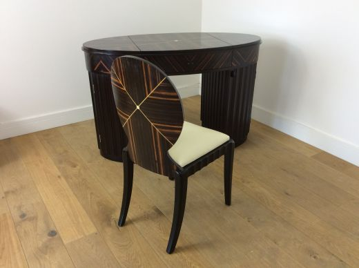 art deco dressing tables Art deco dressing table and chair (item #2160)