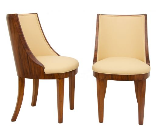 Chairs Pair of Art Deco Chairs by Hille (item #2192)