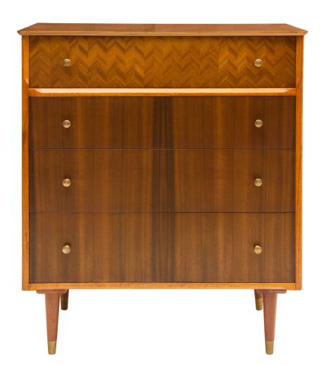 chests midcentury uniflex chest of drawers (item #2252)