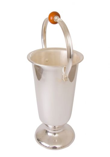 barware Art deco champagne bucket by wmf (item #2256)