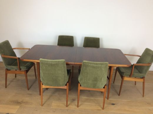 Dining sets Mid century dining table and chairs by robert heritage  (item #2291)