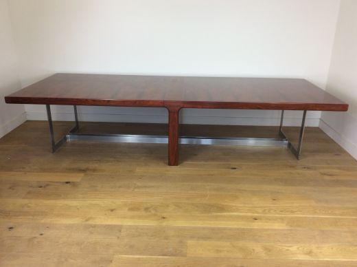 tables Mid century rosewood conference table (item #2300)