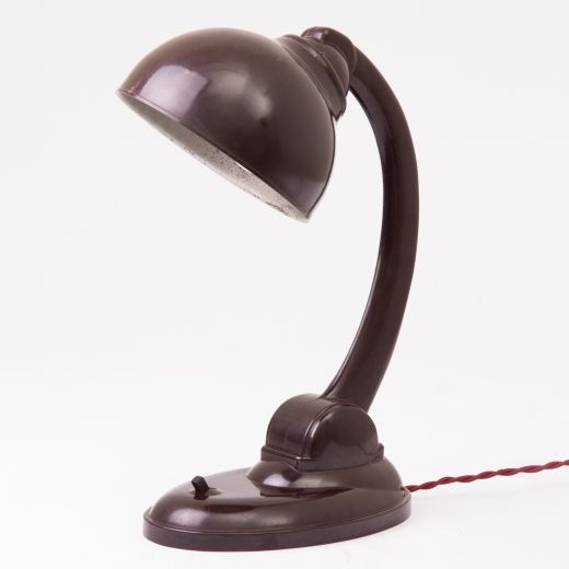 Bakelite Art deco bakelite desk lamp (item #2313)