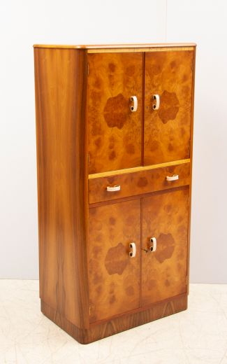 art deco cocktail cabinets Art deco cocktail cabinet from Ireland (item #2329)