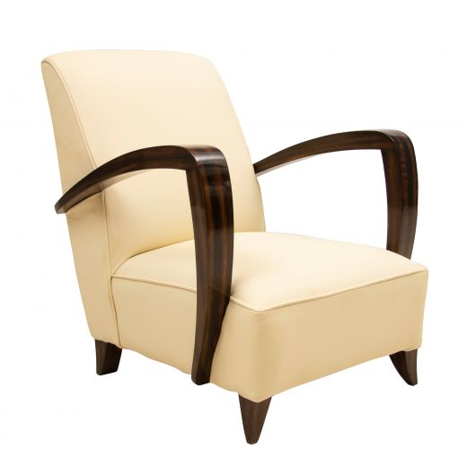 Chairs Art Deco Macassar Chair (#2349)
