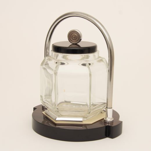 barware Art Deco Ice Bucket by Louis Prodhon (item #2370)