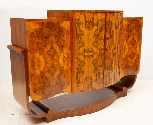 art deco cocktail cabinets Cocktail Sideboard by Harry & Lou Epstein (item #2373)