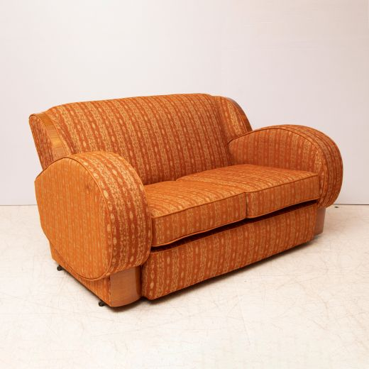 art deco sofaS Art Deco Sofa (item #2396)